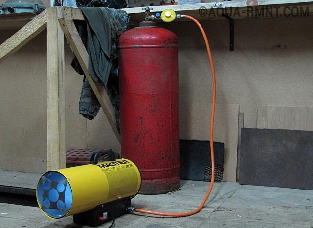 Как сделать отопление в гараже если нет электричества